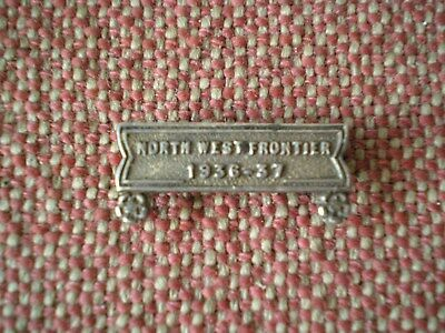 India General Service Medal, North West Frontier 1936-37 Miniature Clasp