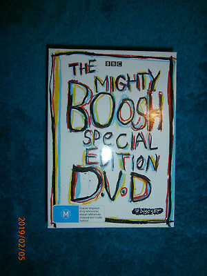 The Mighty Boosh Special Edition (DVD, 2009, 7-Disc Set) Series 1 2 3 Bonus