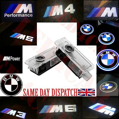 BMW LED Door Projector light Courtesy Puddle Shadow Logo M3 M4 M5 M6 1 3 4 5 6 7