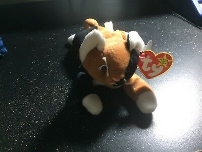 NWT TY BEANIE BABIES CHIP THE CAT Style 4121 1996 PVC Pellets FREE SHIPPING 4262bd3bc5d2