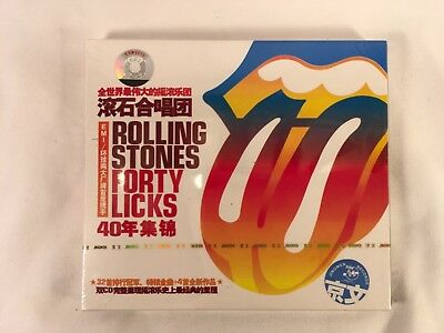THE ROLLING STONES - FORTY LICKS (2 CD SET) CHINESE IMPORT MINT unopened