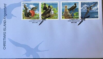 2010 Christmas Island Frigatebird Stamps First Day Cover