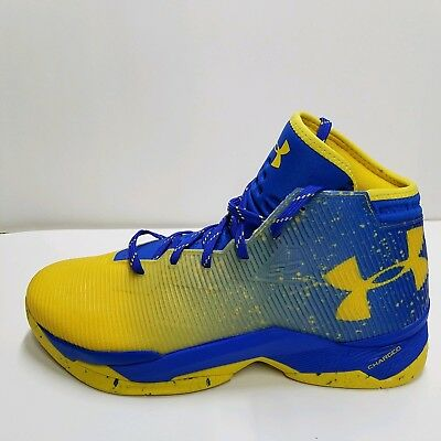 a3068709acd1 UNDER ARMOUR CURRY 2.5 BASKETBALL SHOES MEN Dub Nation Lights Team Royal SZ  12.5