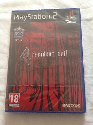 PlayStation 2 Resident Evil 4 Game New Sealed