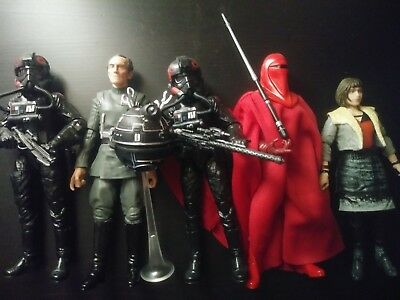 star Wars Black Series Lot Inferno Squad Tarkin Imperials 6 inch Hasbro
