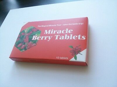 Miracle Fruit Berry Tablets - 1 Pack - Fast Shipping 5 working days in EU
