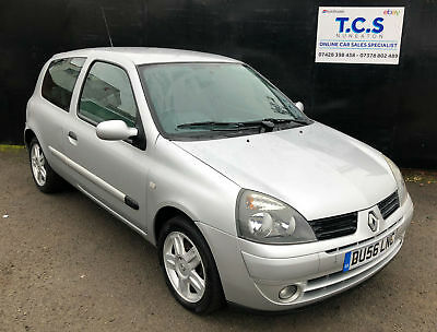 2006 56 Renault Clio 1.2 Campus Sport Drives Well