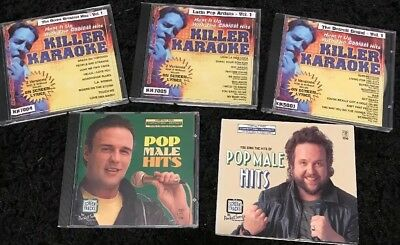 Killer Karaoke, DOORS,LATIN,DETROIT,Bonus Pocket Songs Screen Tracks CDGs