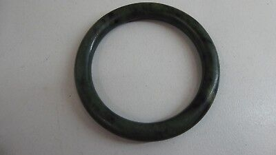Vintage Chinese Green Jade Bangle
