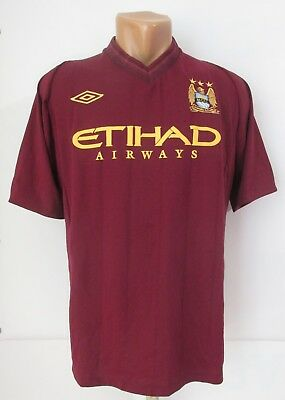 Manchester City 2012 2013 Away Football Shirt Soccer Jersey Camiseta Umbro  (Xl) 15eacb59d