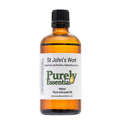St John's Wort Oil Infused 50ml 100ml 500ml100% Pure & Natural, Purely Essential