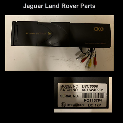 Range Rover L322 Cd Changer DVD Video DVC6008