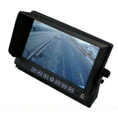 7 inch colour heavy duty rear view dash monitor