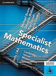**WORKED SOLUTIONS** CSM Specialist Maths VCE Units 1/2 PDF
