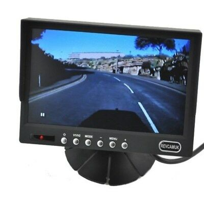 7 inch colour rear view monitor with guidelines