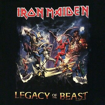 Iron Maiden - Legacy Of The Beast - Part Of The Legacy T-shirt (L)