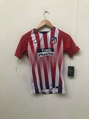 Atletico Madrid home shirt 18-19 - 12-13 years - Franklin 7 - New
