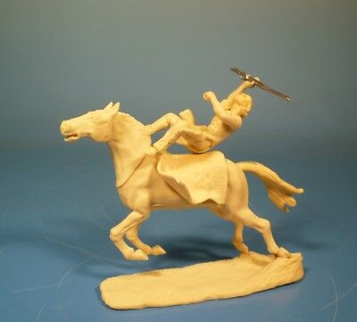 Lineol - Wild West Indianer zu Pferd - 75mm Figur Bausatz - Resin Kit 1:24