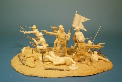 Lineol - Custer's last stand Diorama - 75mm Figuren Bausatz - Resin Kit 1:24