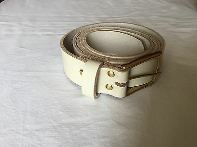 Geniune Full Grain Leather Belts (Hand Made In England)