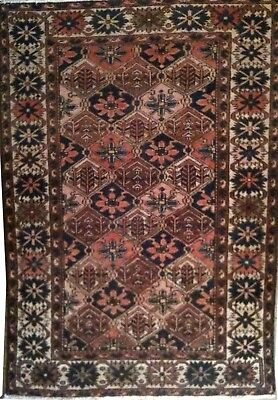 Tapis Persan Traditionnel Oriental hand made 150 cm x110 cm  N° 85