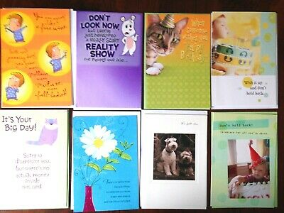 Hallmark GET WELL Cards Variety Pac GETWELL Assortment of 6 Cards SAVE $11.00