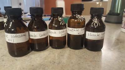 Hecate lodestone  oil 1 oz  wiccan pagan witch herbs Magic ritual offering