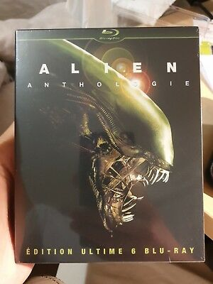 Coffret 6 blu ray ALIEN Anthologie édition ultimate neuf sous blister