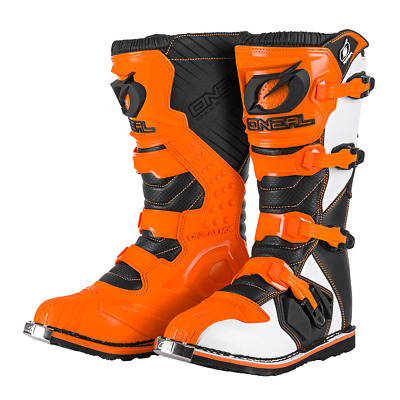 Motocross Stiefel O´neal Rider Enduro MTB orange Cross