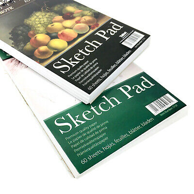 A5 Sketch Pad Artist Drawing Book Art Paper Sheets Spiral Bound Hard Back Cover