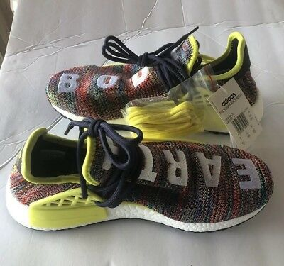 f4a7b02ea NEW Adidas Pharrell Human Race NMD Trail Boost AC7360 Multi Color Size 8.5