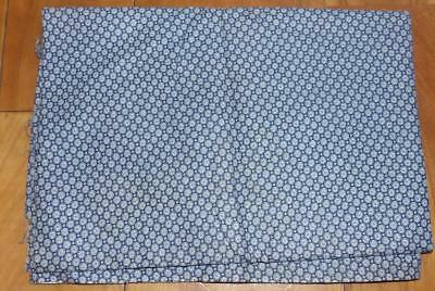 ORIG VINTAGE 50s 60s 100% COTTON QUILT CRAFT DRESS CALICO DOT PRINT FABRIC 3 YD