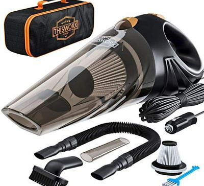 New Portable Handheld Wet Dry 12v 106w Bagless Hepa Filter Car Vaccum Cleaner