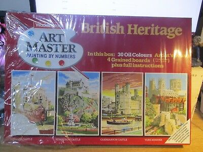 "Waddingtons ""ART MASTER"" Painting by Numbers ""BRITISH HERITAGE"""