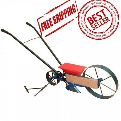 NEW! Precision sowing metal manual seeder Vegetable Planter Worldwide