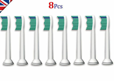 Sonicare 8 Toothbrush Heads Compatible With Philips Hx6013 Hx6011 Hx6014 Hx6530