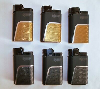 DJEEP Deluxe Soft Touch Luxury 6 Lighters, up to 4000 lights