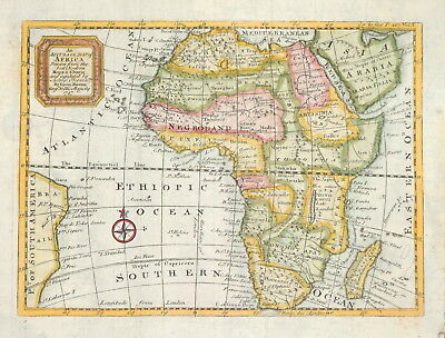 An Accurate Map Of Africa By Emmanuel Bowen, 1747.