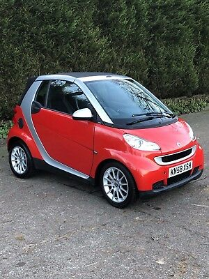Smart fortwo Passion 1.0 Turbo  (84bhp) Cabriolet 2008