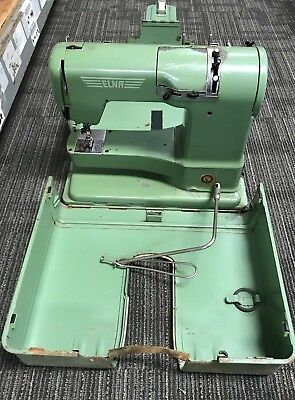 Vintage Early 1950s ELNA Supermatic Sewing Machine - For Parts or Repair