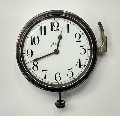 Vintage 1/4 Quarter Repeater Car Automobile Clock / Watch Swiss Chimes AS IS