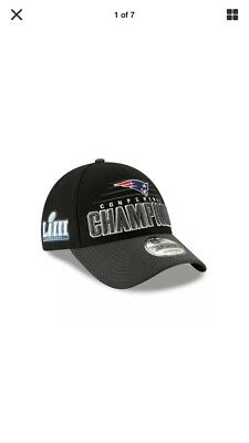 New England Pats new New Era 9FORTY NFL Conference Champions Locker Snap Hat Cap