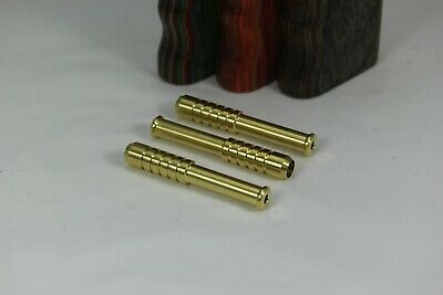 "One Hitter 2"" Solid Brass Bat Includes Three Pieces."