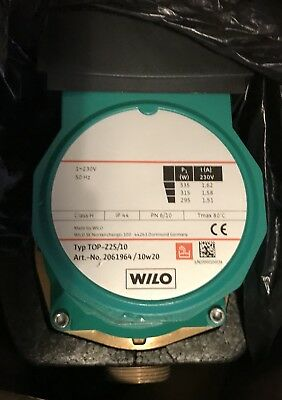 WILO TOP-Z 25/10 BRONZE DRINKING WATER CIRCULATION PUMP 2061964 230v #1204