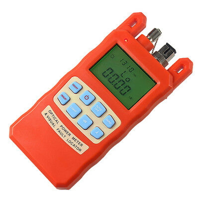 Optical Power Fiber Meter with 20mW Visual Fault Locator Finder -70~+10dBm
