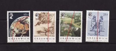 Mint 1984 Gb Greenwich Meridian Stamp Set Of 4 Muh Stamps