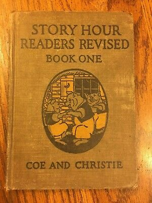 Story Hour Readers Revised Book One Coe and Christie 1923 - Three Little Pigs