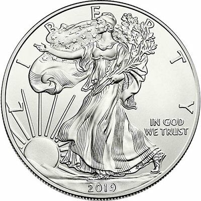2019 American Silver Eagle 1 oz Coin - Lot of 2