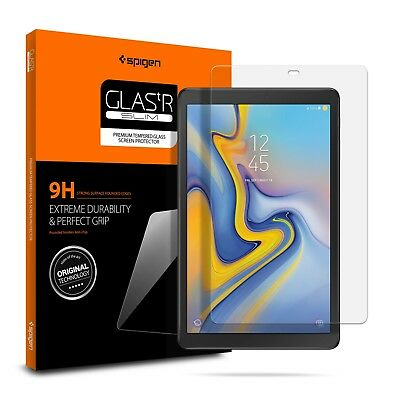 "Galaxy Tab A 10.5"" Spigen® [Glas.tR SLIM] Shockproof Tempered Glass Protector"
