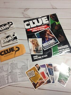 CLUE Game Discover The Secrets White Dice Replacement Piece Part 2008